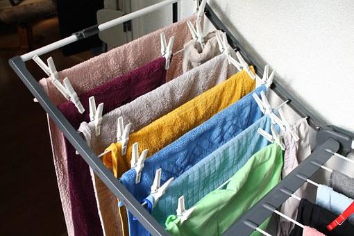 花粉症 洗濯物 部屋干し