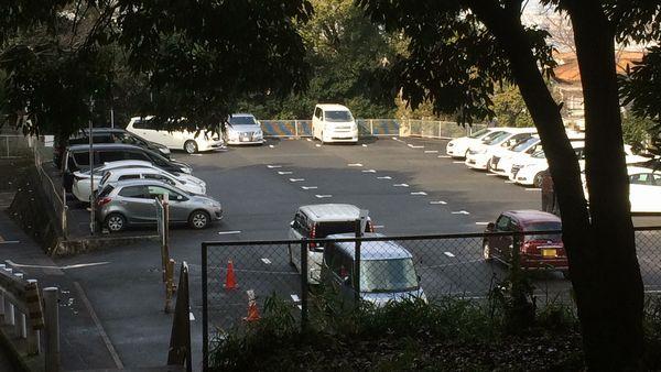枚岡神社 駐車場