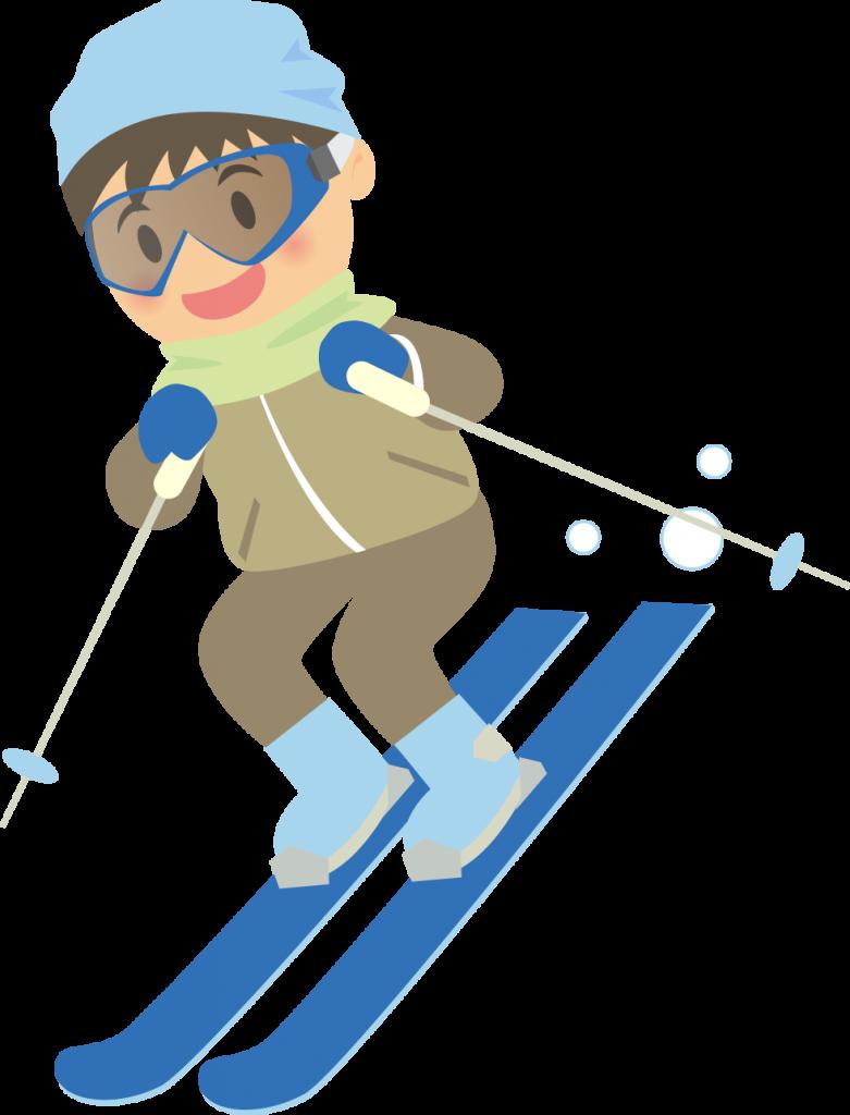 雨 の 日 スキー 格好