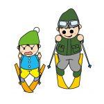 スキー スクール 親子